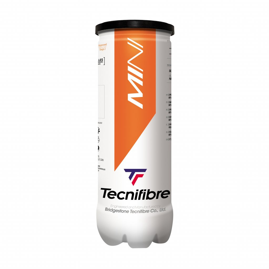 Detské tenisové loptičky Tecnifibre Mini 3 ks