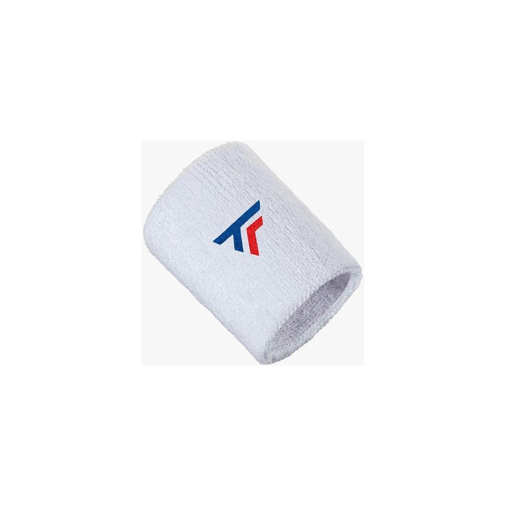 Potítko Tecnifibre Wristband White 2020 XL