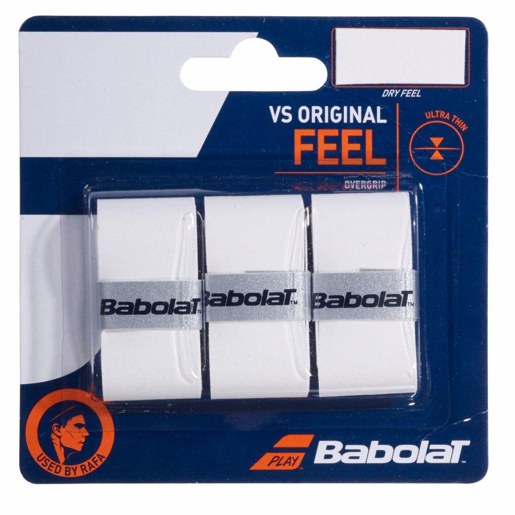Babolat Feel VS Original x3 Biela