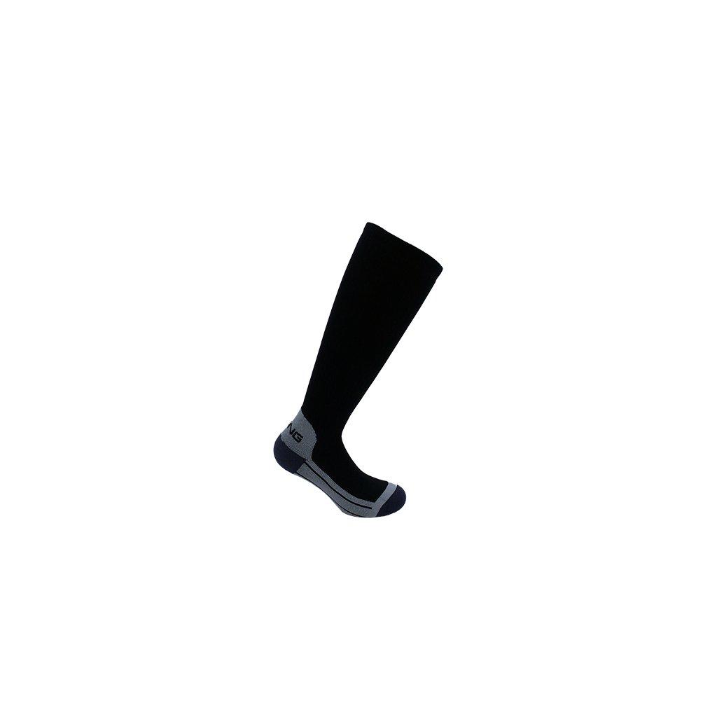 Kompresné ponožky Spring Revolution 2.0 Fast Recovery Compression čierne