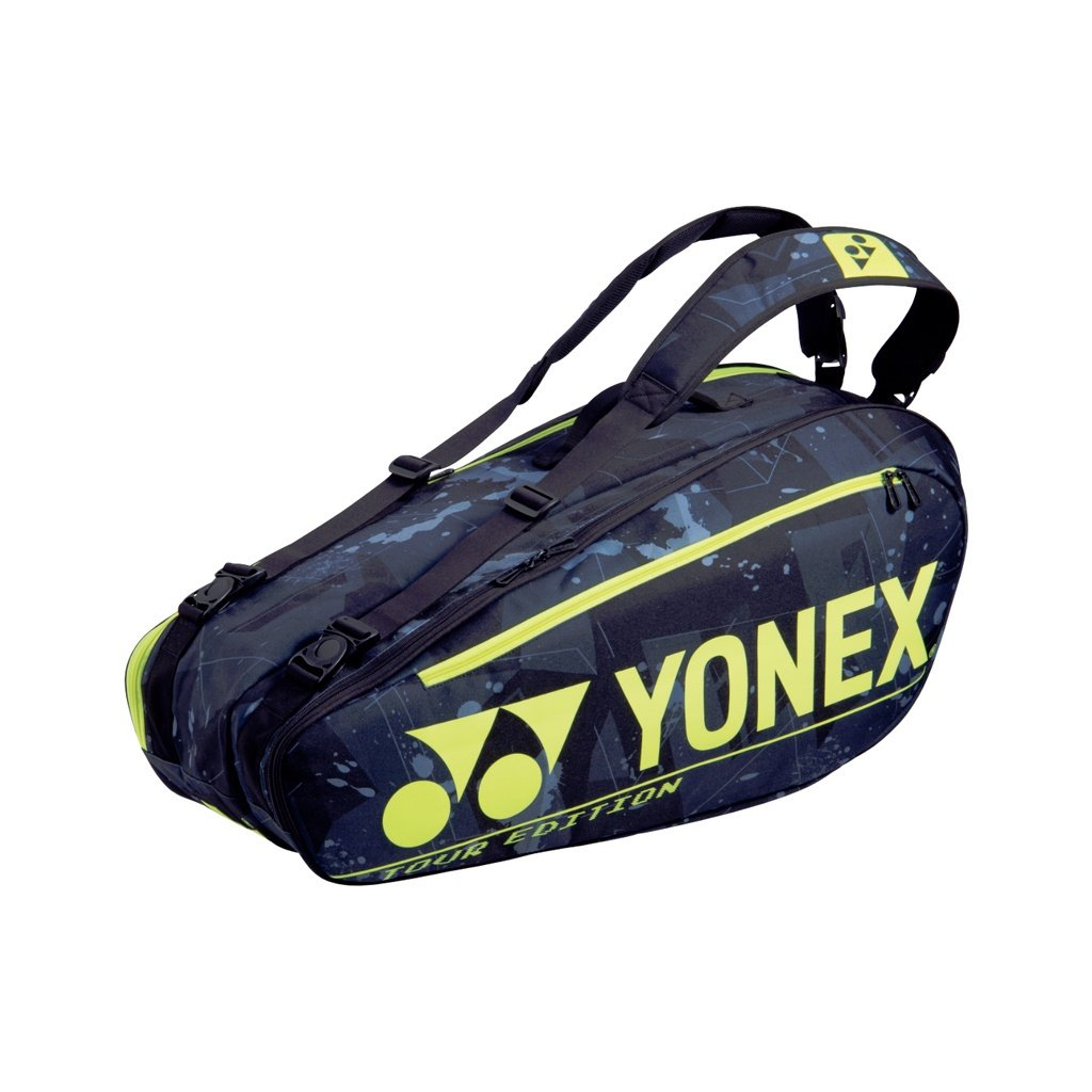 Taška na rakety Yonex BAG BA92026EX Black Yellow