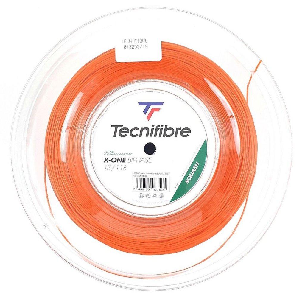 Squashový výplet Tecnifibre X ONE Biphase Orange 200m