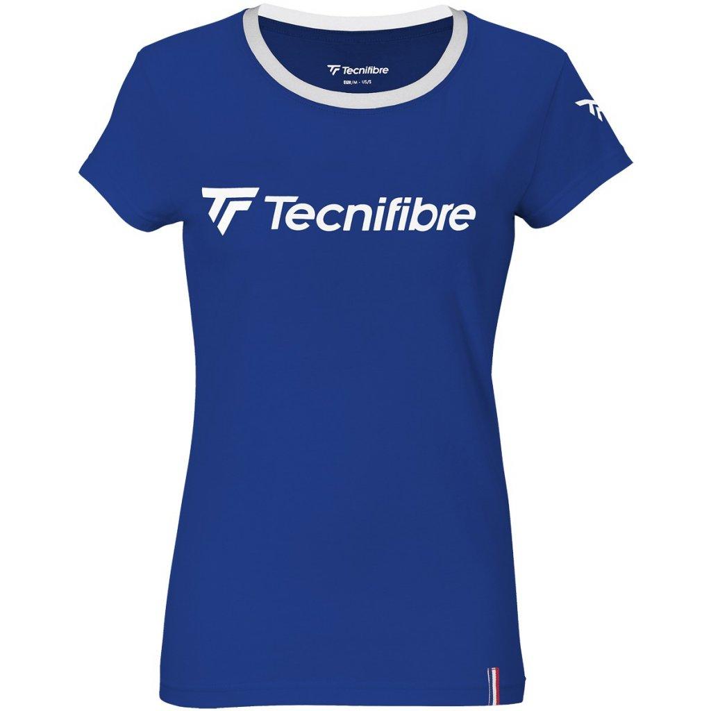 Dámske tričko Tecnifibre COTTON TEE 2021