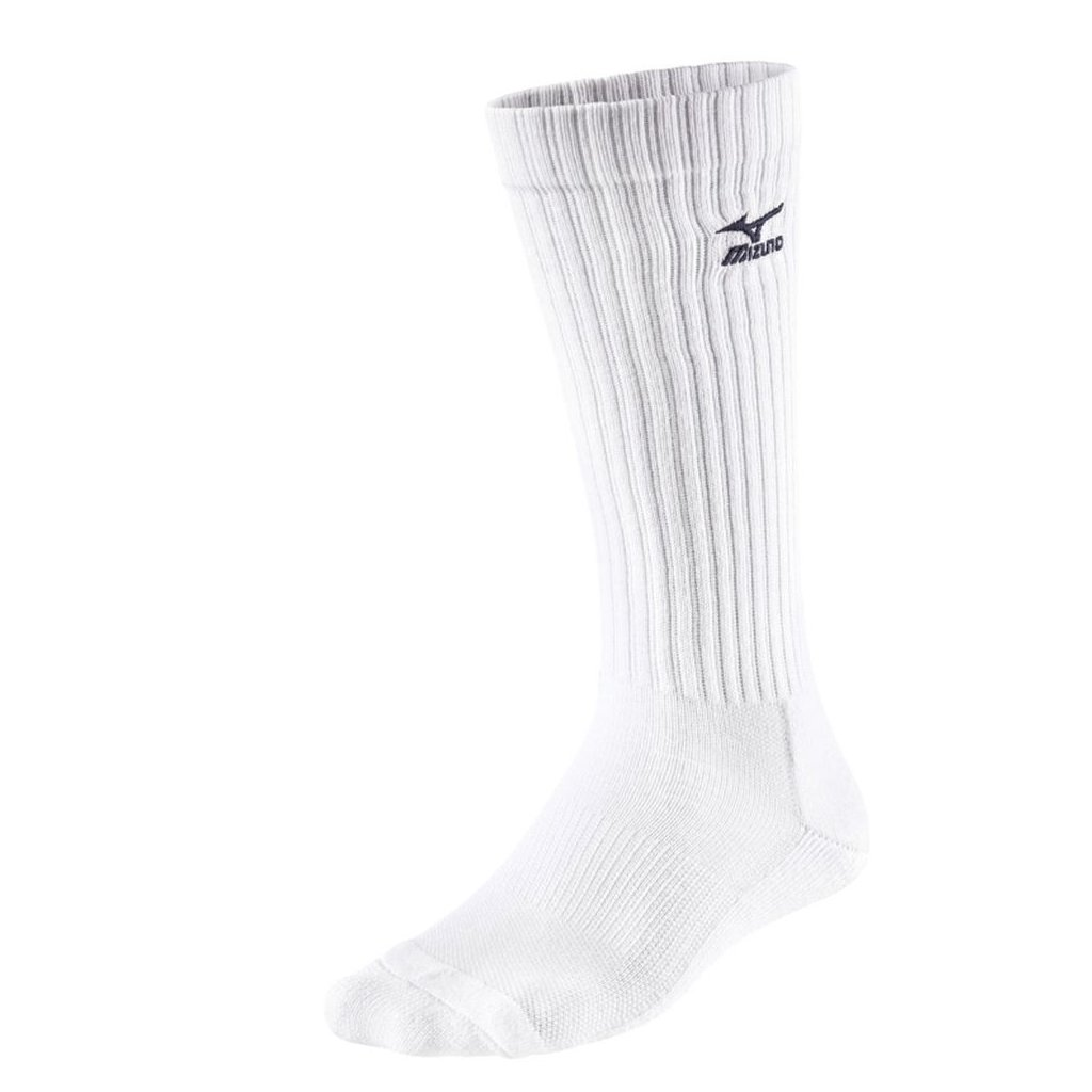 Mizuno Volley Socks Long White