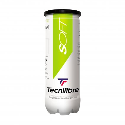 Detské tenisové loptičky Tecnifibre SOFT 3ks