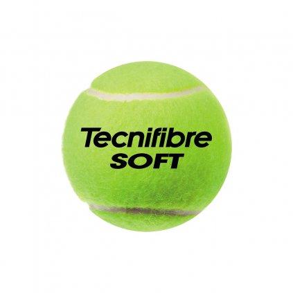 Tenisové loptičky Detské tenisové loptičky Technifibre SOFT 3ks