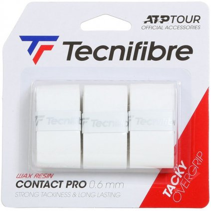 Tecnifibre PRO CONTACT WHITE OVERGRIP 3 ks