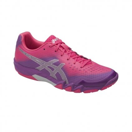ASICS GEL BLADE 6 ORCHID PRUNE ROUGE RED 6