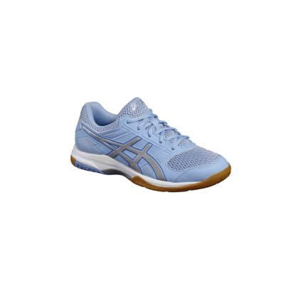 ASICS GEL ROCKET 8 AIRY BLUE SILVER WHITE