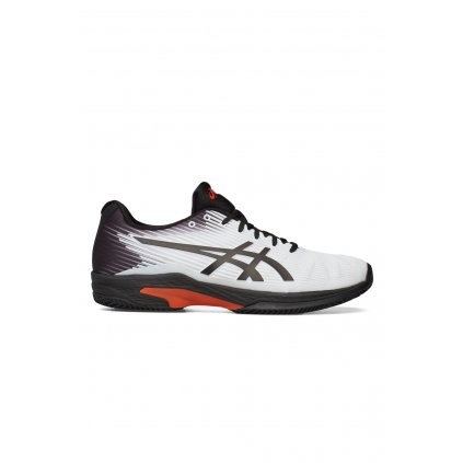 ASICS SOLUTION SPEED FF CLAY WHITE BLACK o1