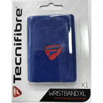 Potítko Tecnifibre Wristband XL BLUE/RED