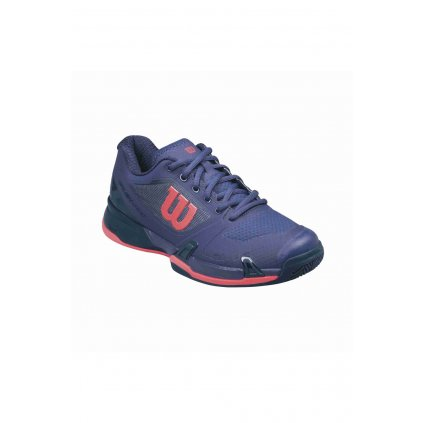 WILSON RUSH PRO 2.5 CLAY COURT W ASTRAL AURA EVENING BLUE FIERY CORAL