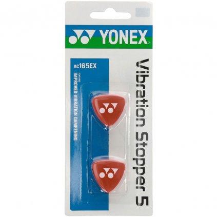 Yonex Vibration Stopper 5 Červená 2ks