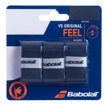 Babolat Feel VS Original x3 Čierna
