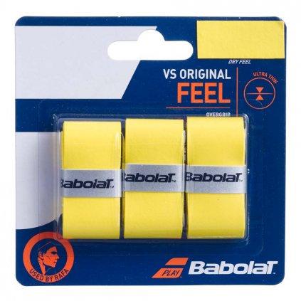 Babolat Feel VS Original x3 Žltá