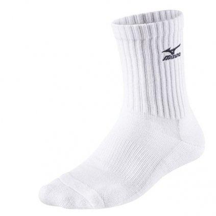 Volejbalové ponožky Mizuno Volley Socks Medium White