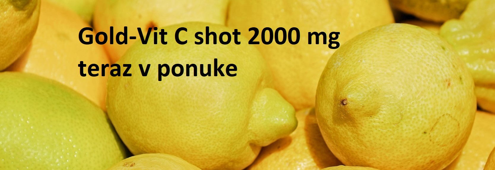 C vitamín pre rýchlu regenráciu