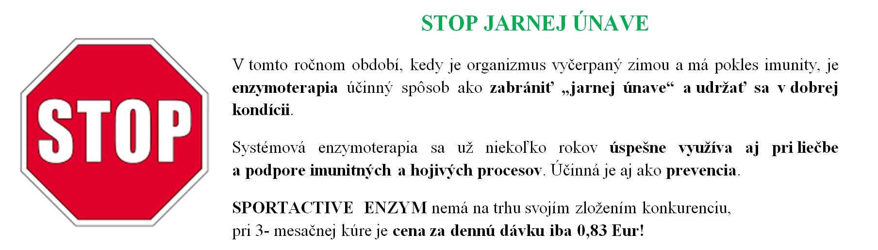STOP jarnej únave!