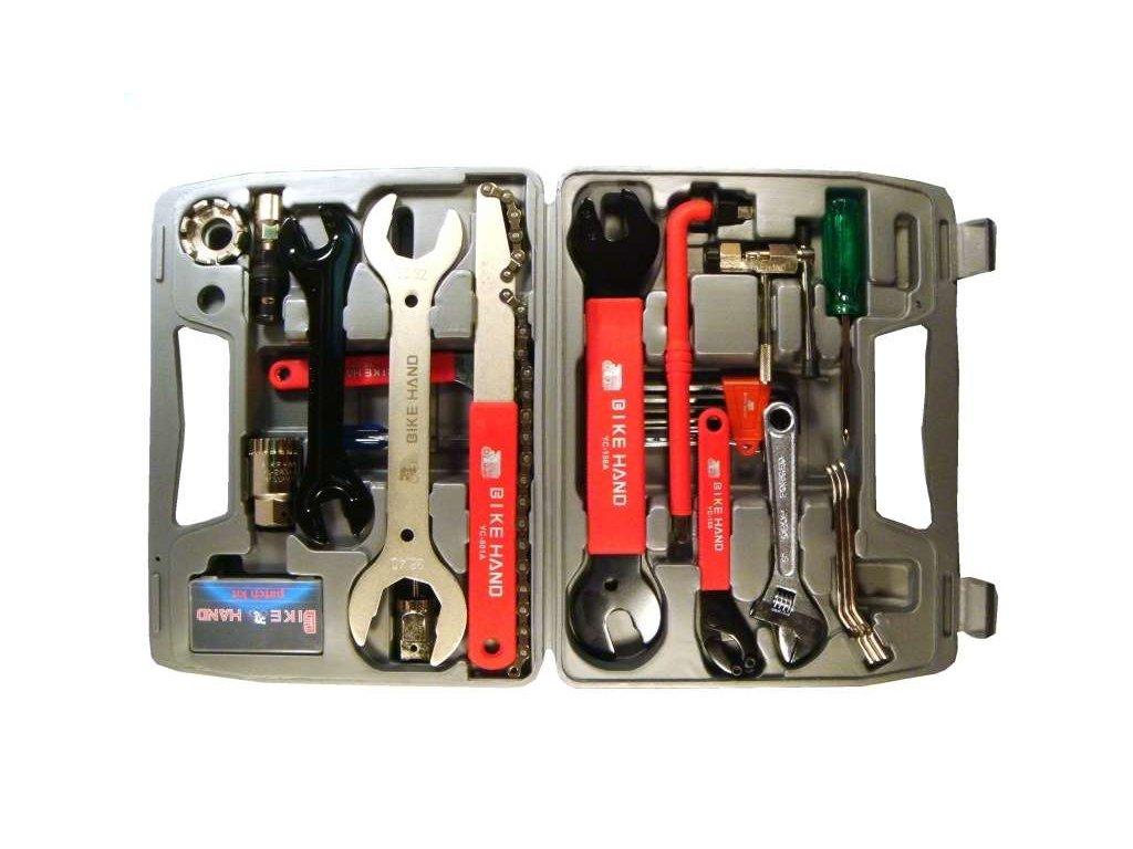 klíče - kufr s nářadím 19ks