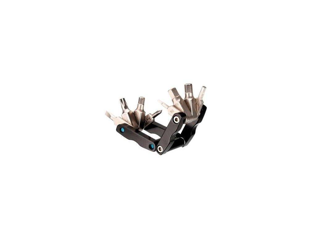 klíče multi 4RACE 8F černý