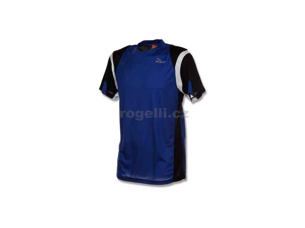 Funkční tričko Rogelli DUTTON, modro-černo-bílé (Varianta XXL)