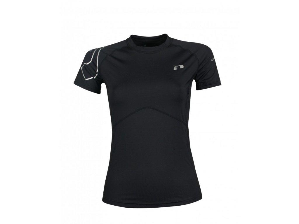 ICONIC dámské kompresní běžecké tričko NEWLINE 10594-110 (Velikost XL)
