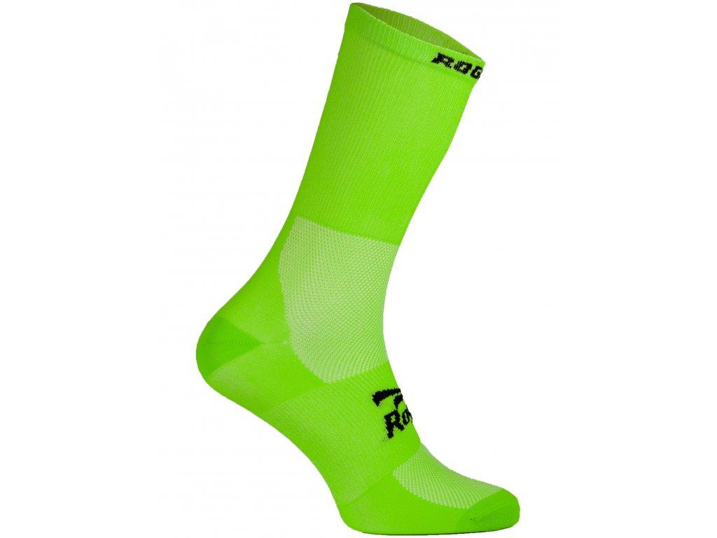 antibakterialni celobarevne ponozky s mirnou kompresi rogelli q skin zelene original
