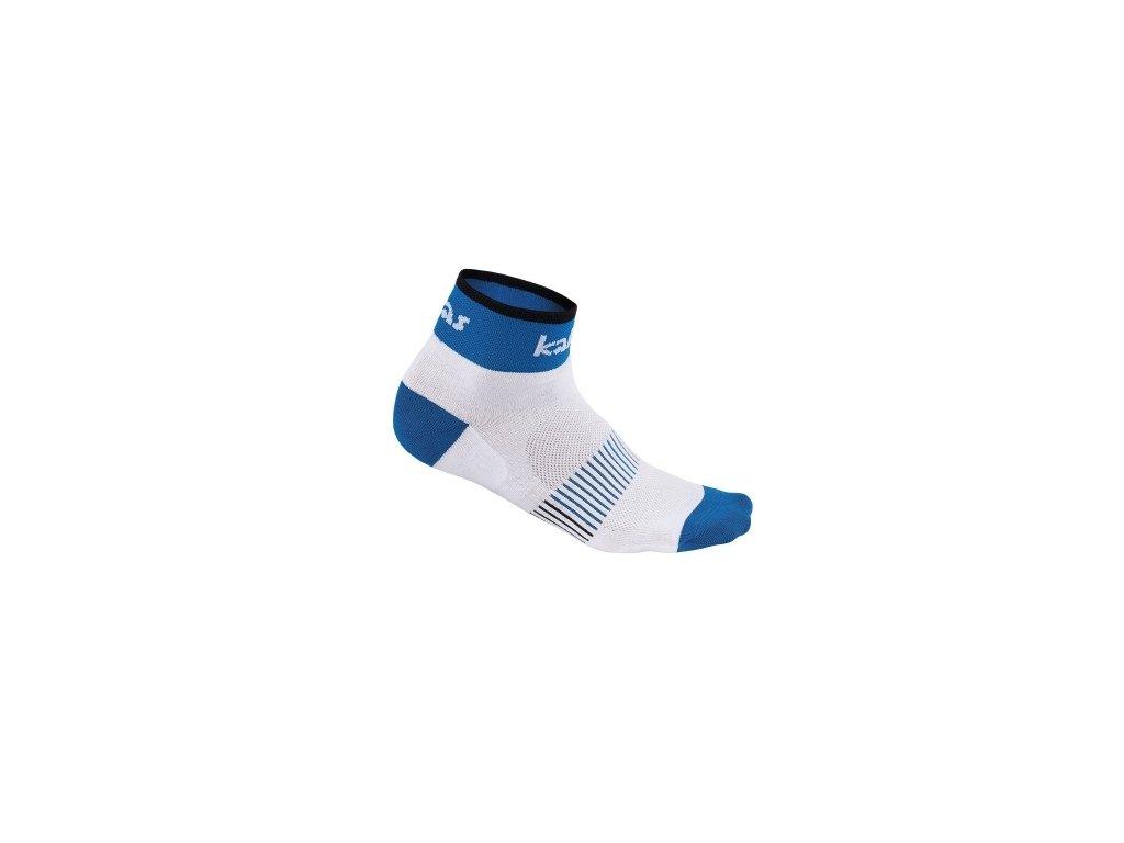 Kalas Cyklistické ponožky RACE X4 | modré (Varianta 46-48)