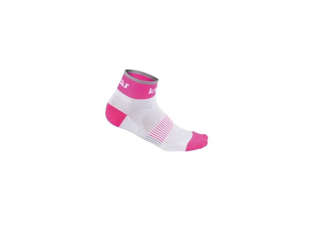 Kalas Cyklistické ponožky RACE X4 | pink (Varianta 46-48)