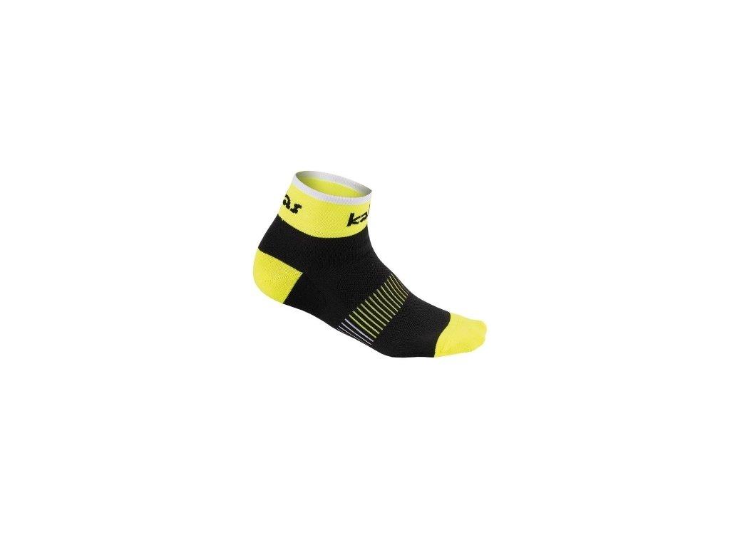 Kalas Cyklistické ponožky RACE X4  neon (Varianta 46-48)