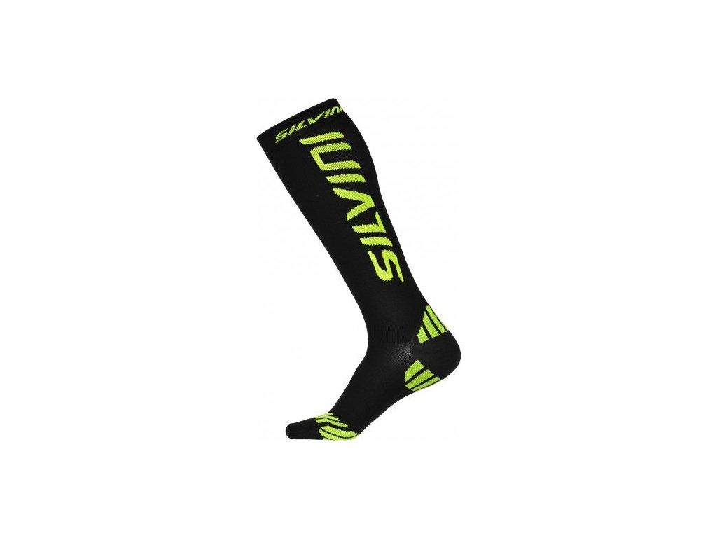 SILVINI kompresní ponožky CASALONE UA562 black (Varianta 45-47)