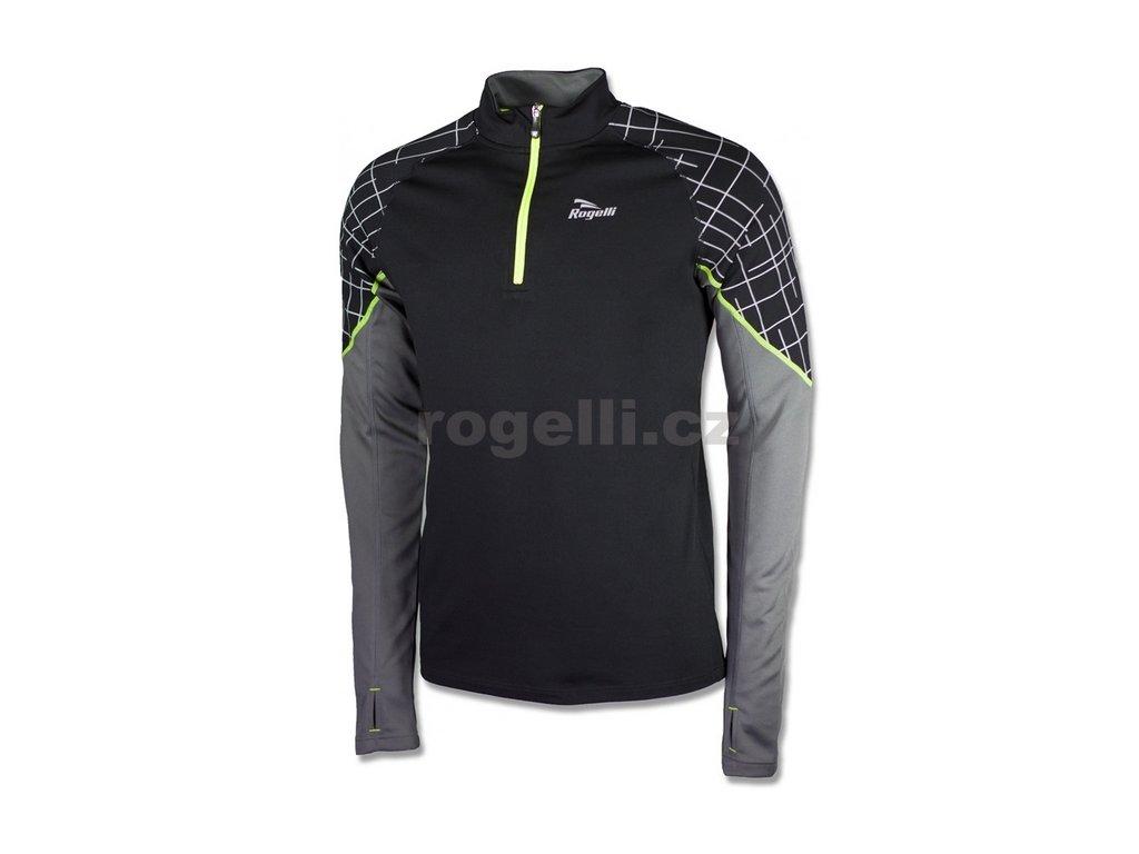 Sportovní mikina Rogelli LANDSFORD, černá (Varianta XXL)