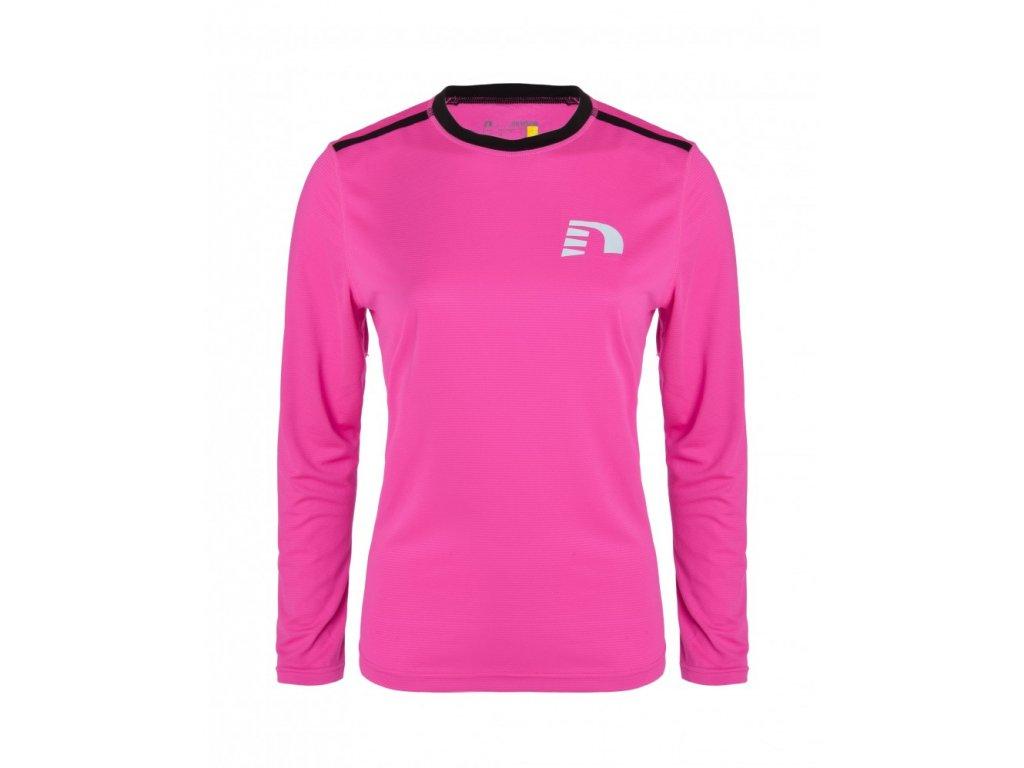 VISIO dámské reflexní běžecké triko Newline 13316-600 (Velikost XL)