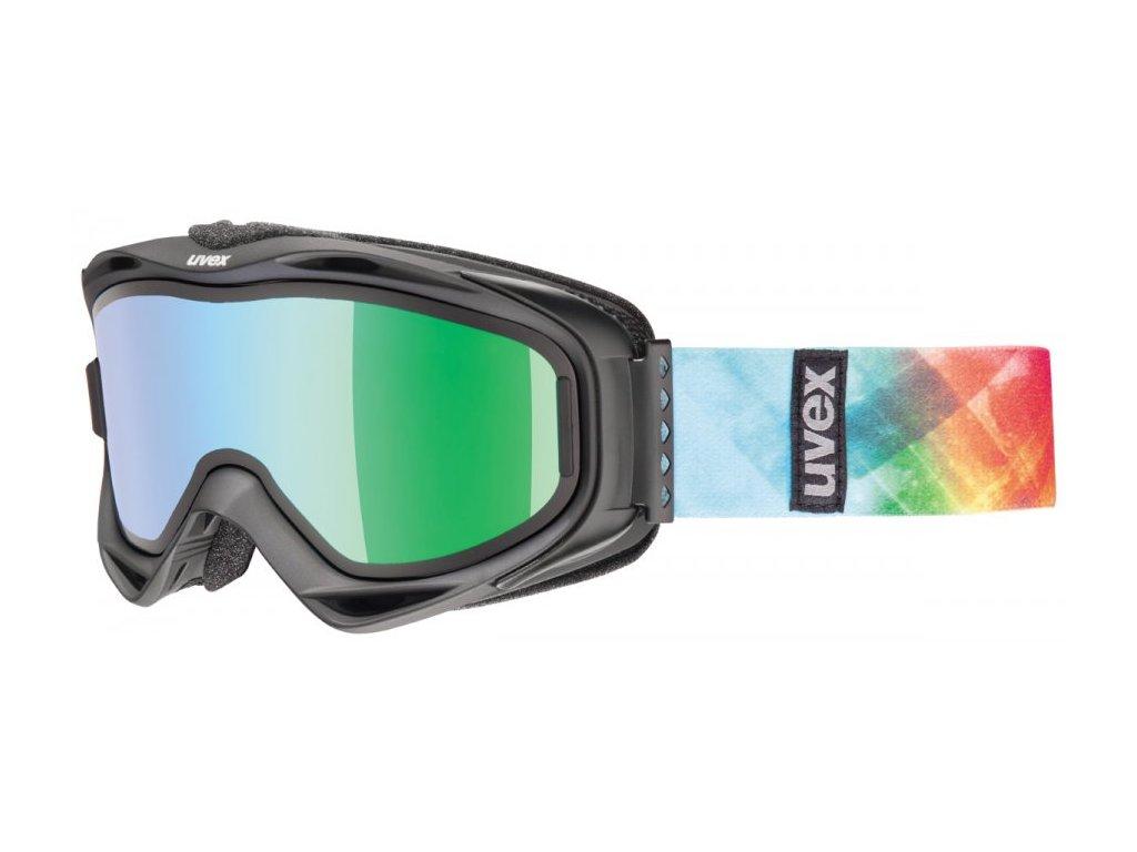 Brýle lyžarské UVEX G.GL 300 TAKE OFF černo/barevné