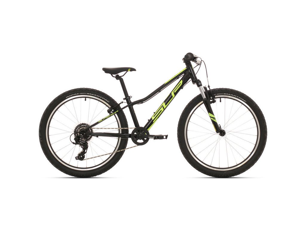 Dětské kolo Superior Racer XC 24 gloss black/neon yellow/dark grey 2019