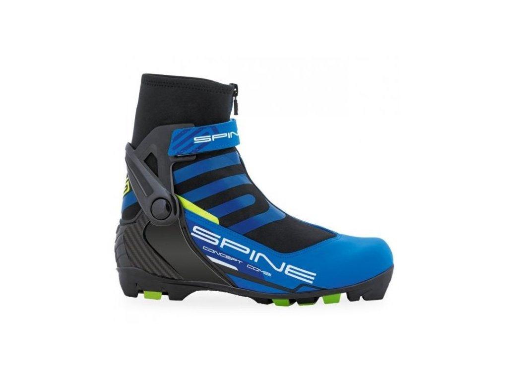 Boty na běžky SKOL SPINE RS Concept COMBI modré