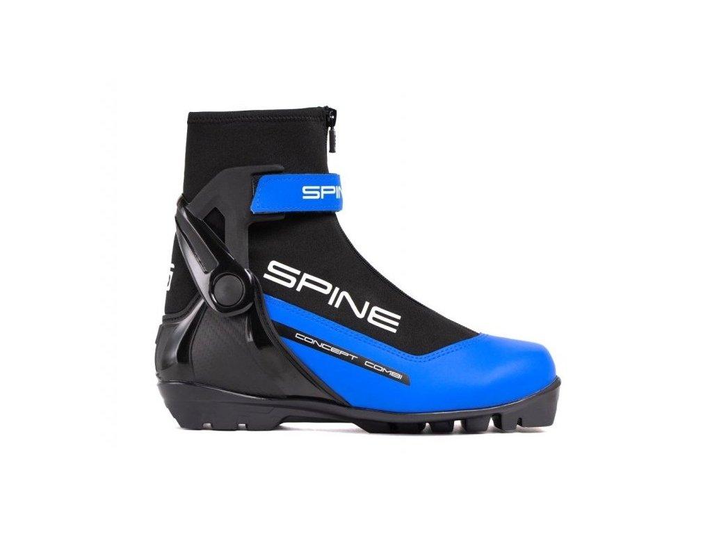 Boty na běžky SKOL SPINE GS Concept COMBI modré