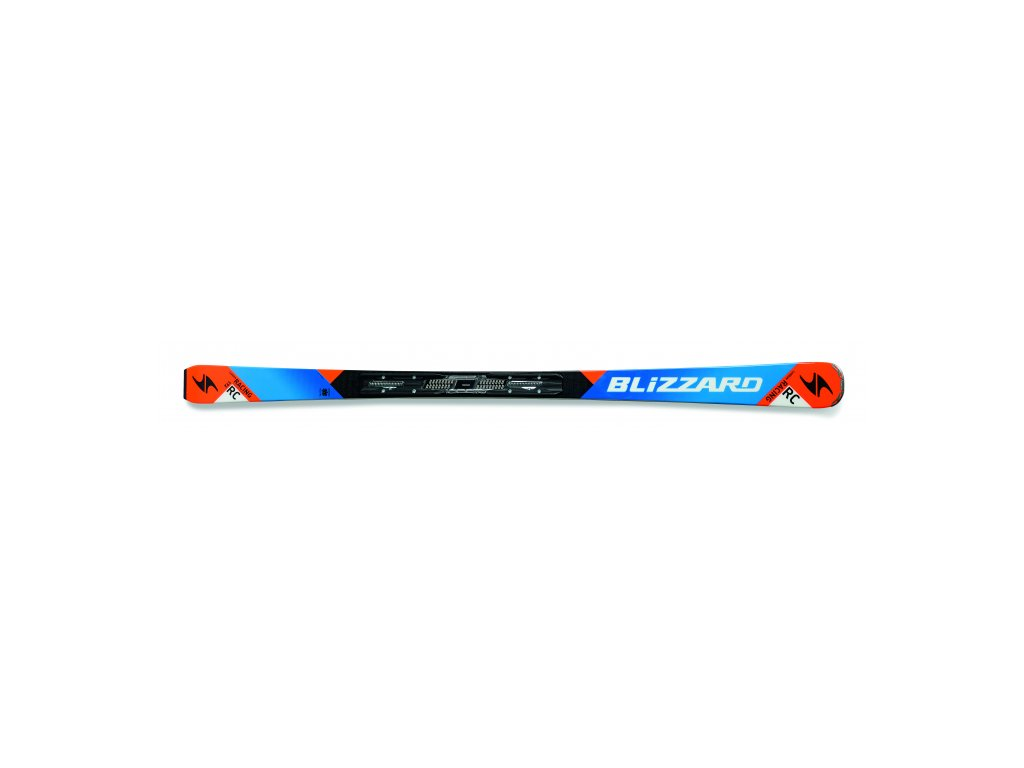 SET SJEZDOVÉ LYŽE BLIZZARD RC CA, BLACK/BLUE/ORANGE + VÁZÁNÍ TP10 DEMO