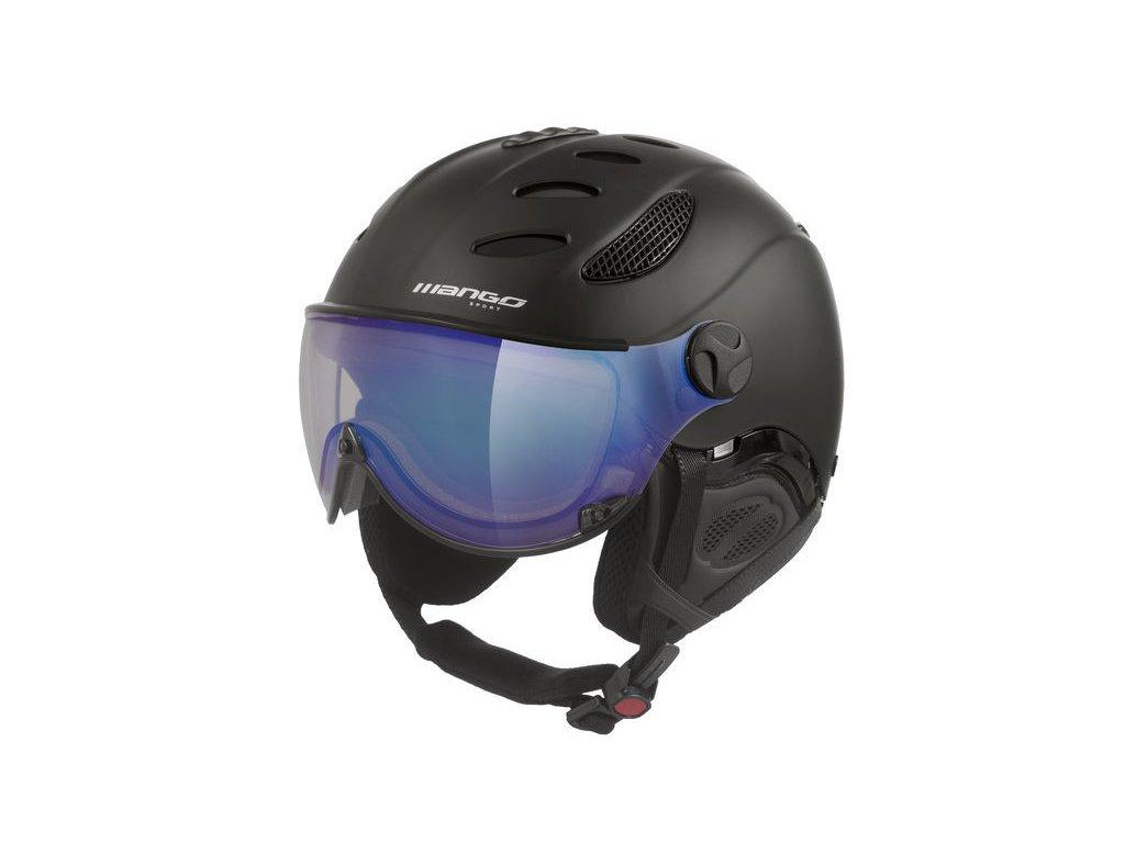 Lyžařská helma Mango Cusna VIP, černá mat