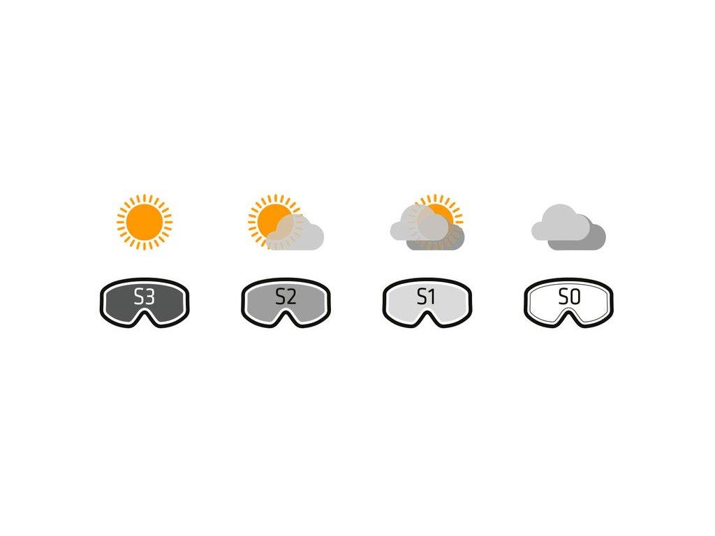 Dámská lyžařská helma Mango Volcano Vip, bílá perleť mat