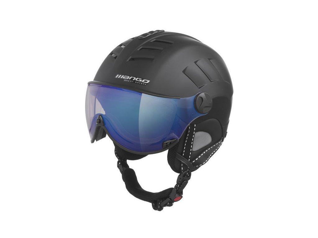 Lyžařská helma Mango Volcano Vip, černá mat