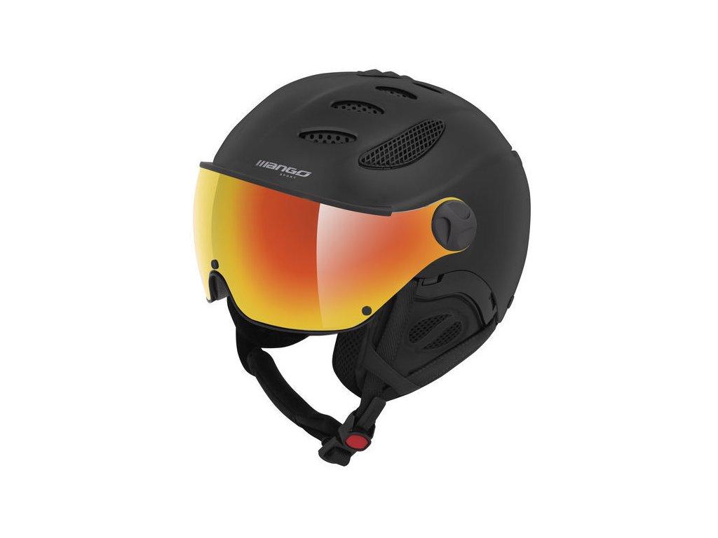 Lyžařská helma Mango Cusna Pro+, černá mat