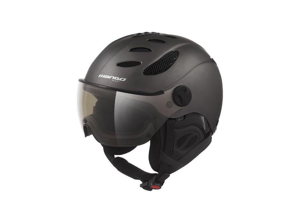 Lyžařská helma Mango Cusna Pro, titan mat