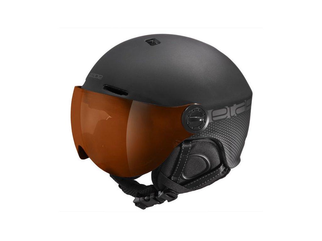 Lyžařská helma Etape Phoenix Pro, černá mat ST