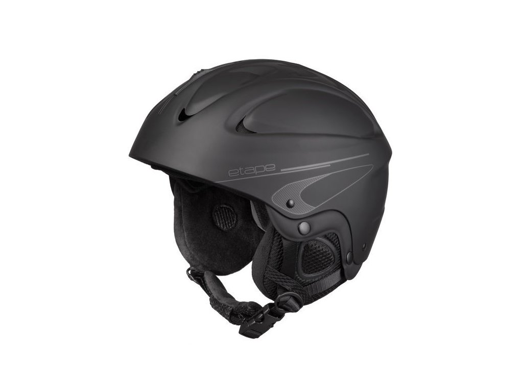 Lyžařská helma Etape Race, černá mat