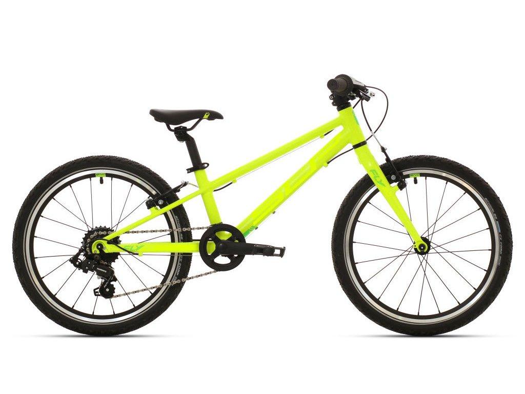 Dětské kolo Superior F.L.Y. 20 Matte lime green/neon yellow 2020
