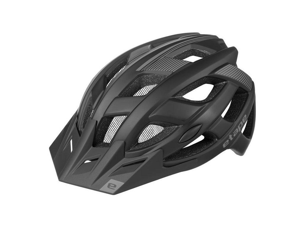 Pánská helma na kolo Etape Escape, černá mat