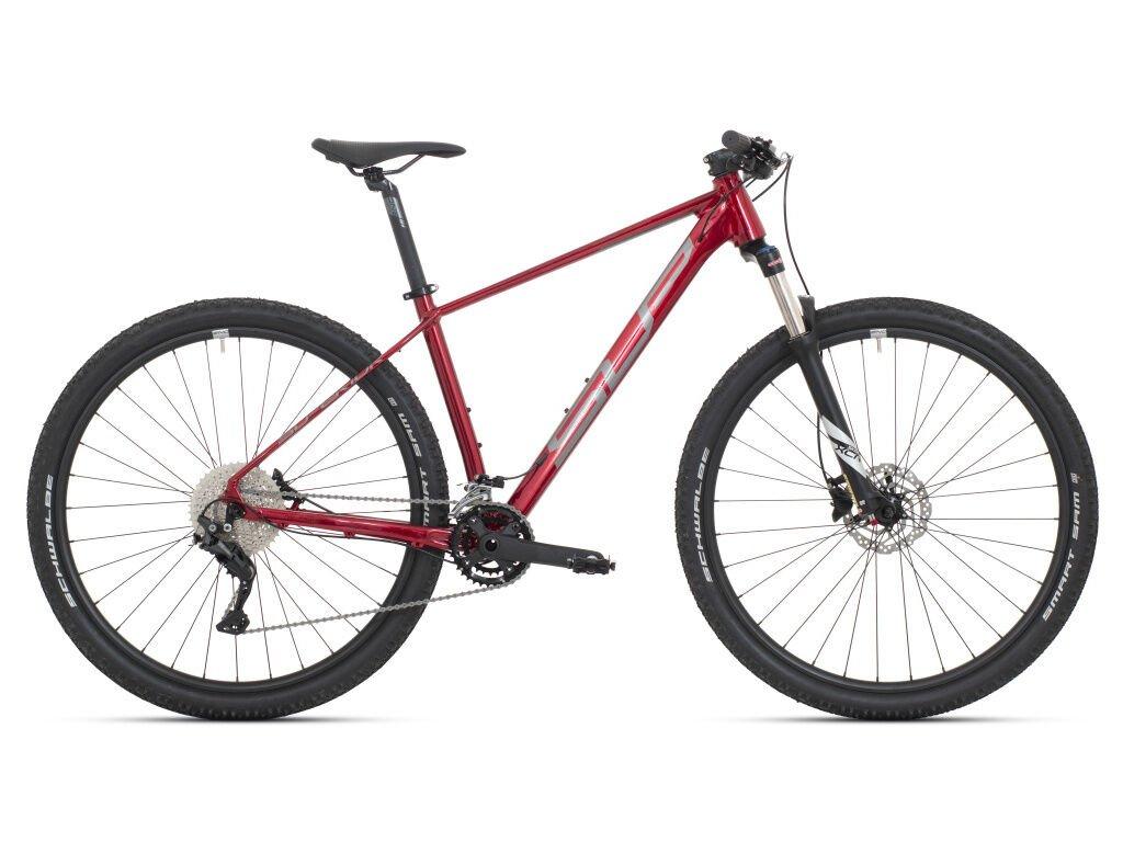Pánské horské kolo Superior XC 879 Gloss Dark red/Chrome Silver 2021