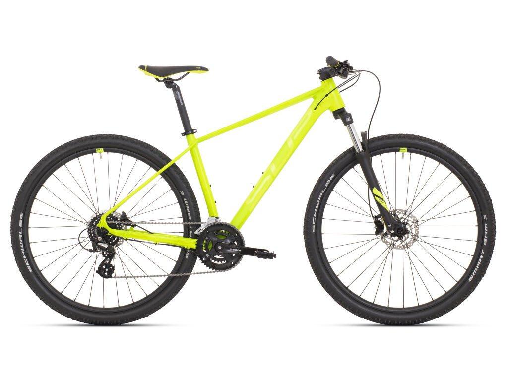 Pánské horské kolo Superior XC 819 Matte Lime/Neon Yellow 2021