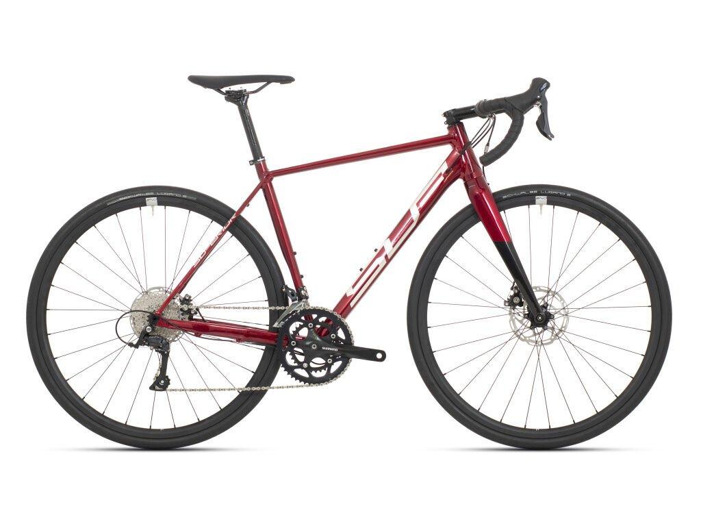 Krosové kolo Superior X-Road Comp Gloss Dark Red/Chrome/Black 2021